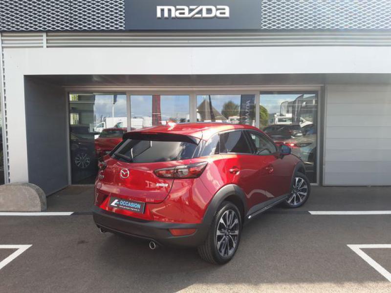 Mazda CX-3 1.8 SKYACTIV-D 115ch Sélection Euro6d-T  occasion à Cesson-Sévigné - photo n°4