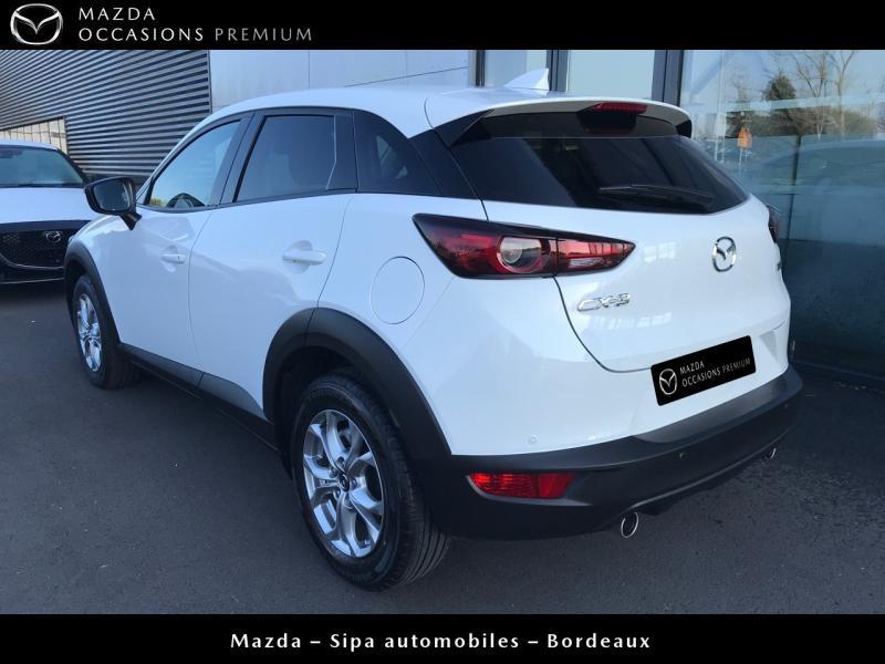 Mazda CX-3 2.0 SKYACTIV-G 120 Dynamique BVA Blanc occasion à Mérignac - photo n°6