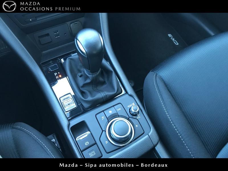 Mazda CX-3 2.0 SKYACTIV-G 120 Dynamique BVA Blanc occasion à Mérignac - photo n°17