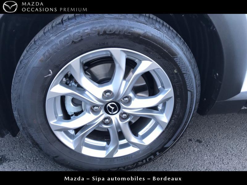 Mazda CX-3 2.0 SKYACTIV-G 120 Dynamique BVA Blanc occasion à Mérignac - photo n°18