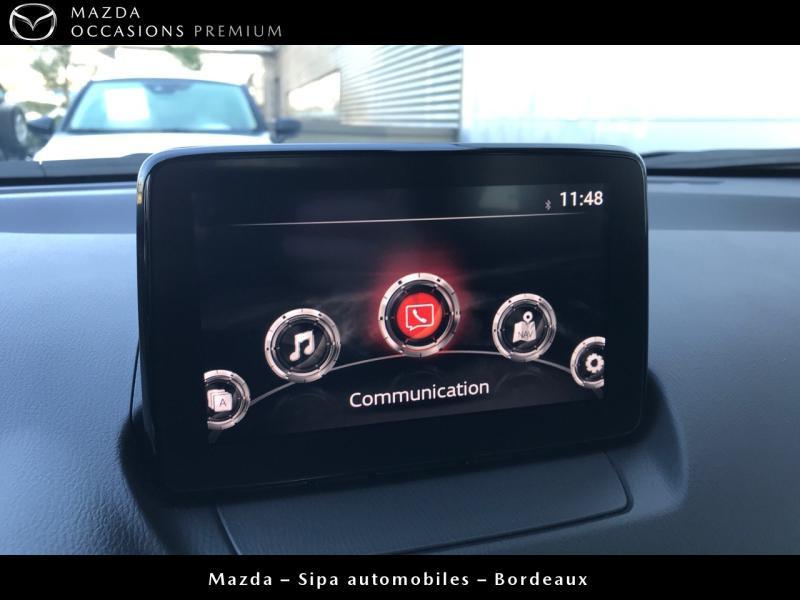 Mazda CX-3 2.0 SKYACTIV-G 120 Dynamique BVA Blanc occasion à Mérignac - photo n°12