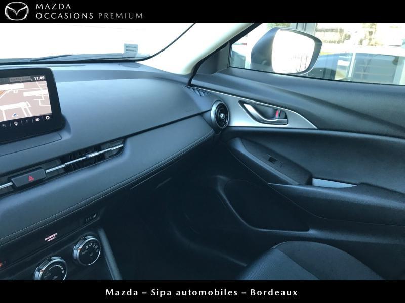 Mazda CX-3 2.0 SKYACTIV-G 120 Dynamique BVA Blanc occasion à Mérignac - photo n°16