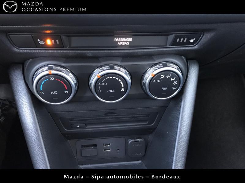 Mazda CX-3 2.0 SKYACTIV-G 120 Dynamique BVA Blanc occasion à Mérignac - photo n°15