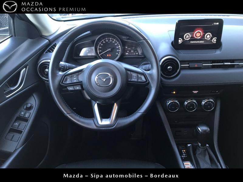 Mazda CX-3 2.0 SKYACTIV-G 120 Dynamique BVA Blanc occasion à Mérignac - photo n°7