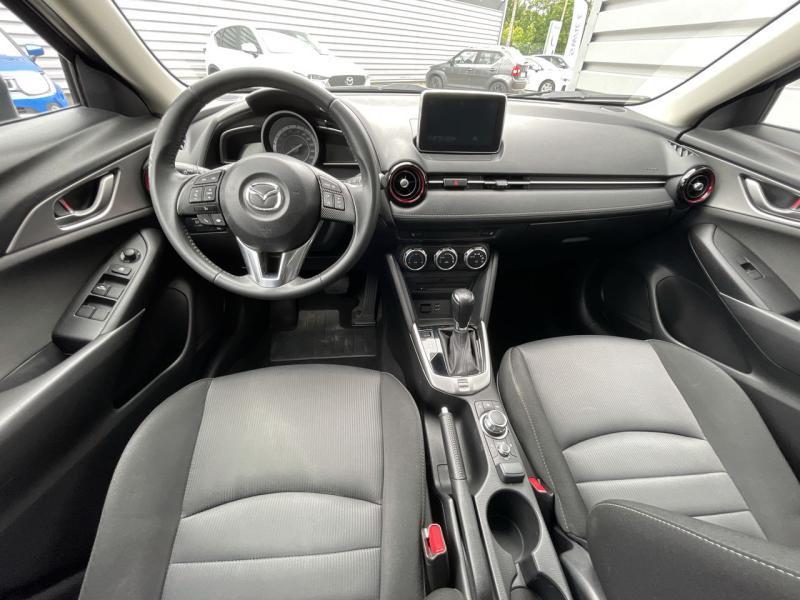 Mazda CX-3 2.0 SKYACTIV-G 120 Dynamique BVA Gris occasion à Saint-Brieuc - photo n°9