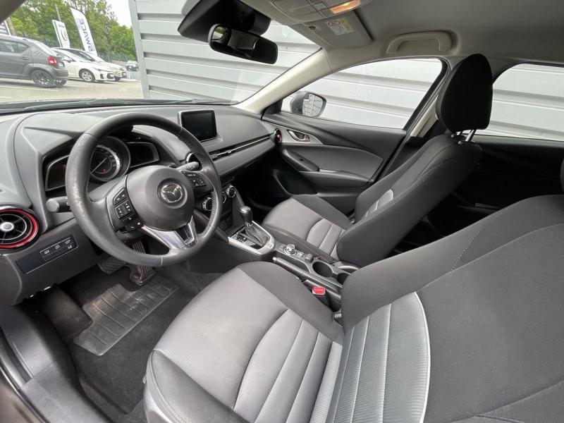 Mazda CX-3 2.0 SKYACTIV-G 120 Dynamique BVA Gris occasion à Saint-Brieuc - photo n°7