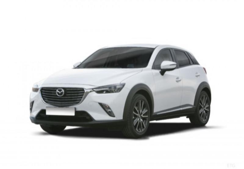 Mazda CX-3 2.0 SKYACTIV-G 120 Dynamique Rouge occasion à LA QUEUE-EN-BRIE