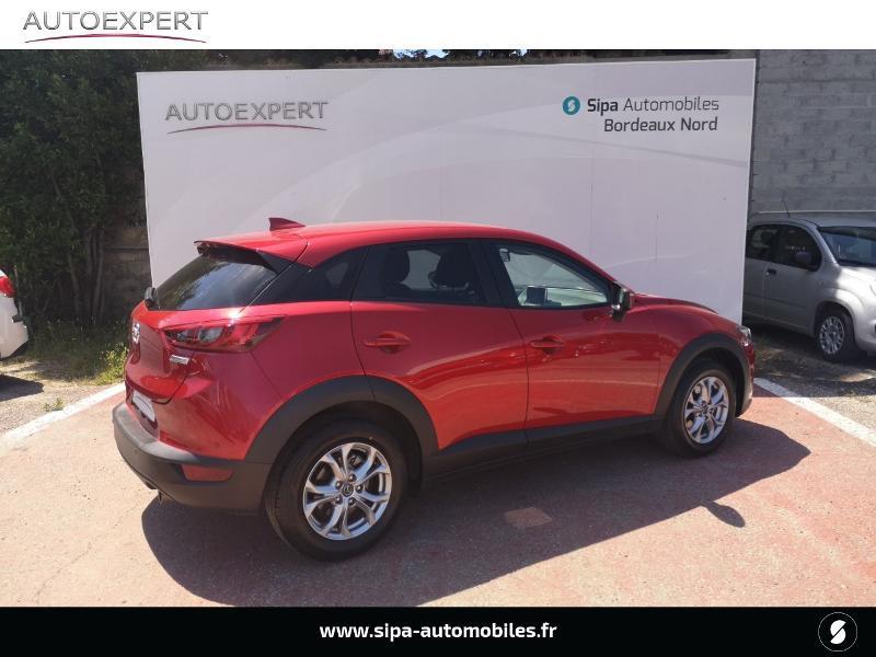 Mazda CX-3 2.0 SKYACTIV-G 120 Dynamique Rouge occasion à Le Bouscat - photo n°2