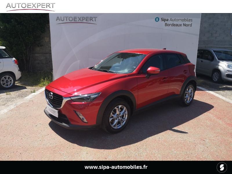 Mazda CX-3 2.0 SKYACTIV-G 120 Dynamique Rouge occasion à Le Bouscat