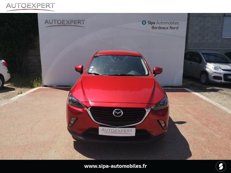 Mazda CX-3 2.0 SKYACTIV-G 120 Dynamique Rouge occasion à Le Bouscat - photo n°8