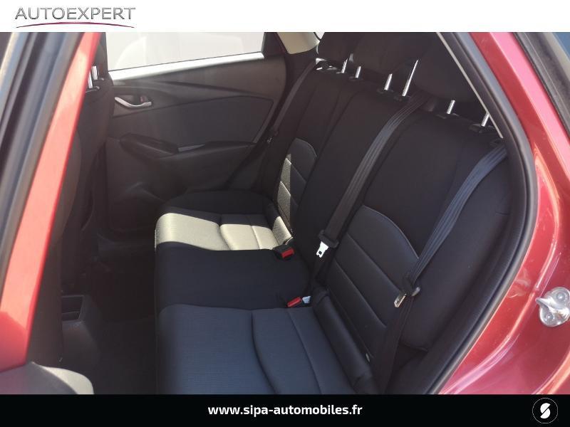 Mazda CX-3 2.0 SKYACTIV-G 120 Dynamique Rouge occasion à Le Bouscat - photo n°11