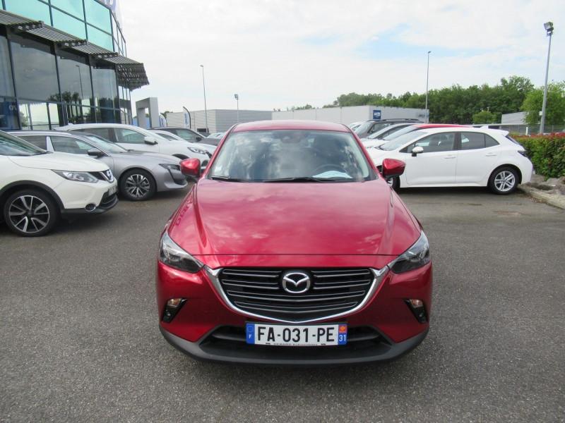 Mazda CX-3 2.0 SKYACTIV-G 120 DYNAMIQUE Rouge occasion à Labège - photo n°8