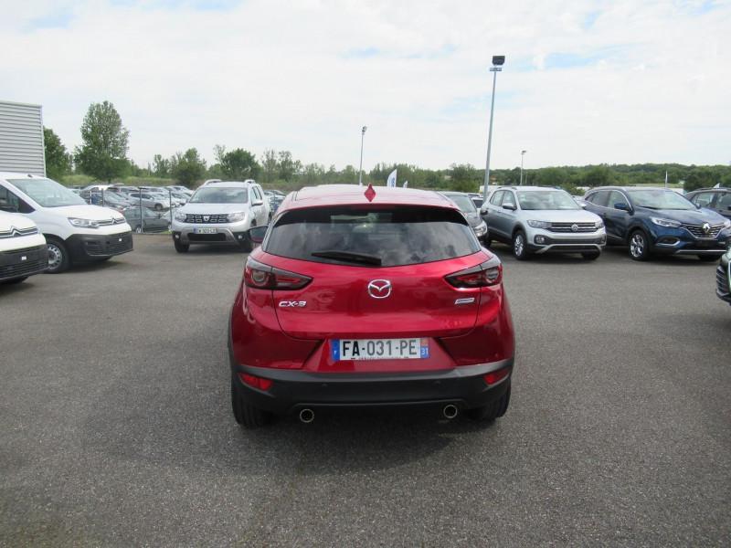 Mazda CX-3 2.0 SKYACTIV-G 120 DYNAMIQUE Rouge occasion à Labège - photo n°4