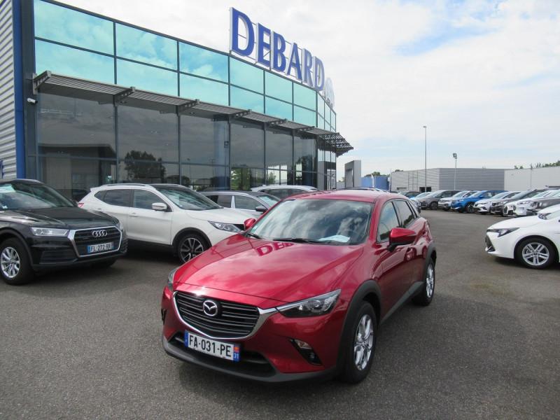 Mazda CX-3 2.0 SKYACTIV-G 120 DYNAMIQUE Rouge occasion à Labège