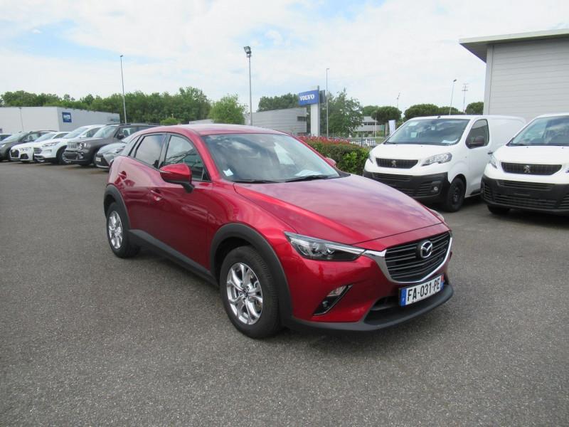 Mazda CX-3 2.0 SKYACTIV-G 120 DYNAMIQUE Rouge occasion à Labège - photo n°7