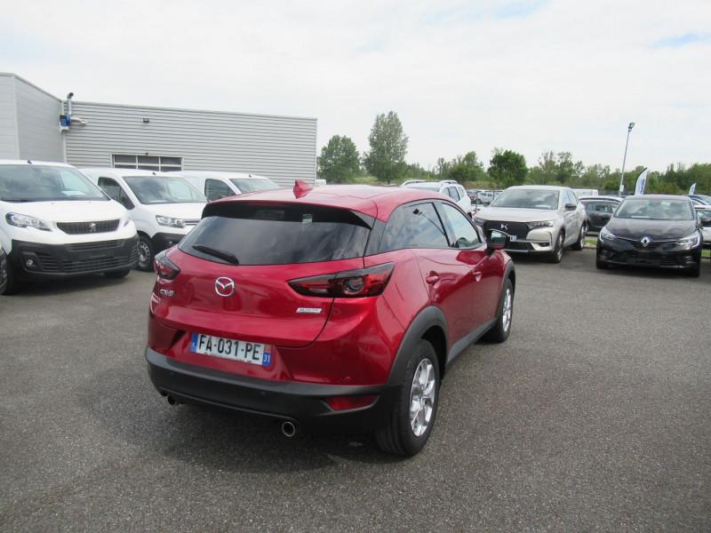 Mazda CX-3 2.0 SKYACTIV-G 120 DYNAMIQUE Rouge occasion à Labège - photo n°5