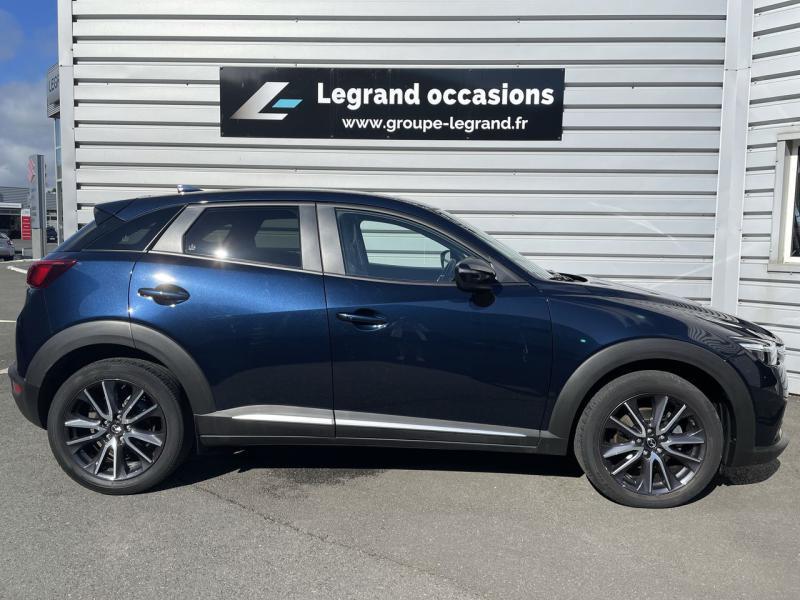 Mazda CX-3 2.0 SKYACTIV-G 120 Signature Bleu occasion à Saint-Brieuc - photo n°4