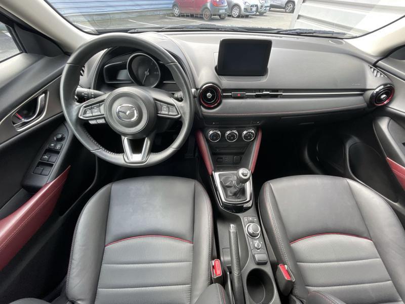 Mazda CX-3 2.0 SKYACTIV-G 120 Signature Bleu occasion à Saint-Brieuc - photo n°7