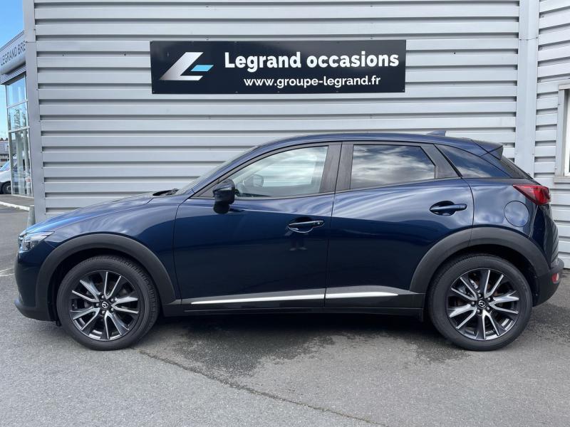 Mazda CX-3 2.0 SKYACTIV-G 120 Signature Bleu occasion à Saint-Brieuc - photo n°2