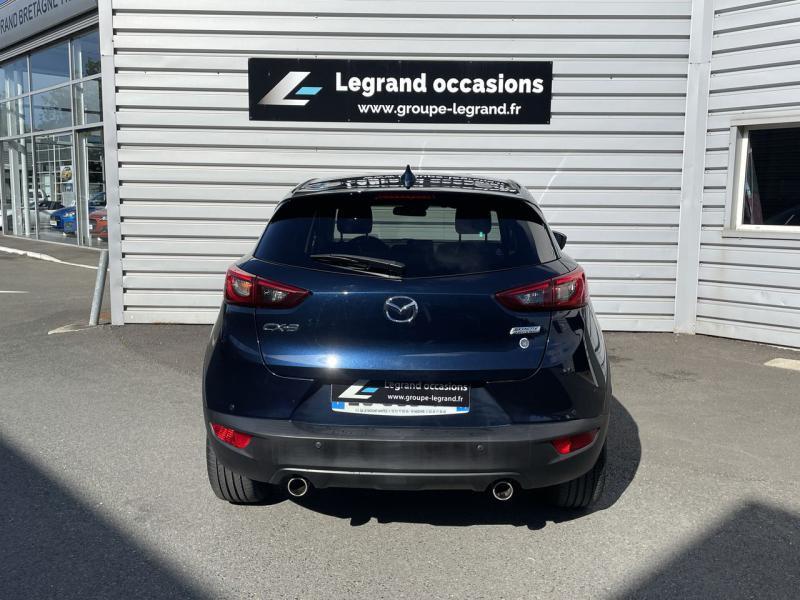 Mazda CX-3 2.0 SKYACTIV-G 120 Signature Bleu occasion à Saint-Brieuc - photo n°5