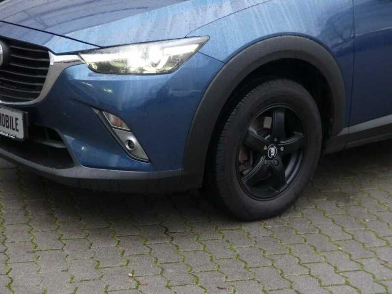 Mazda CX-3 2.0 SkyActiv-G 120 Bleu occasion à Beaupuy - photo n°9