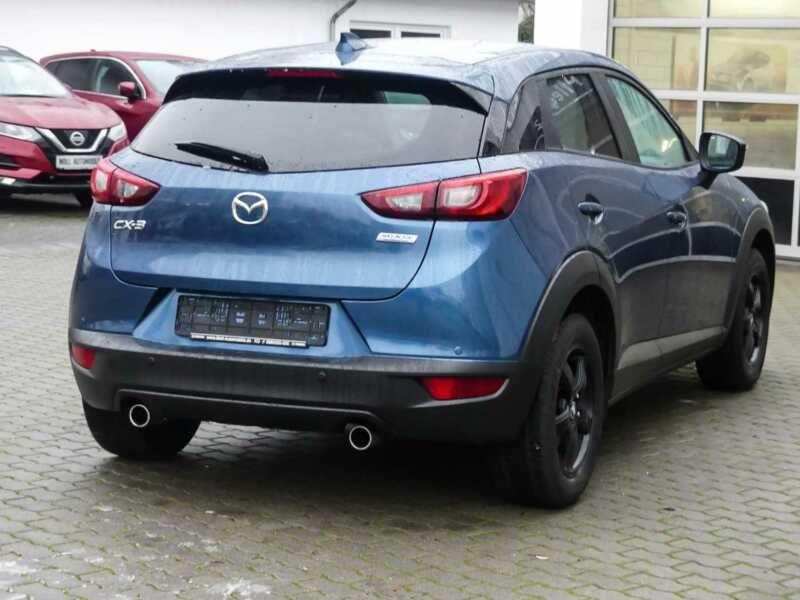 Mazda CX-3 2.0 SkyActiv-G 120 Bleu occasion à Beaupuy - photo n°3