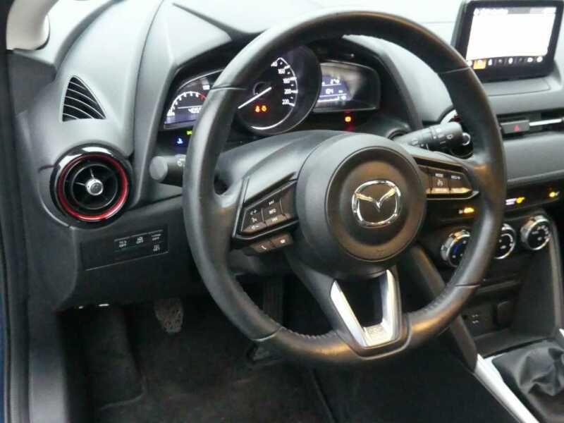 Mazda CX-3 2.0 SkyActiv-G 120 Bleu occasion à Beaupuy - photo n°2