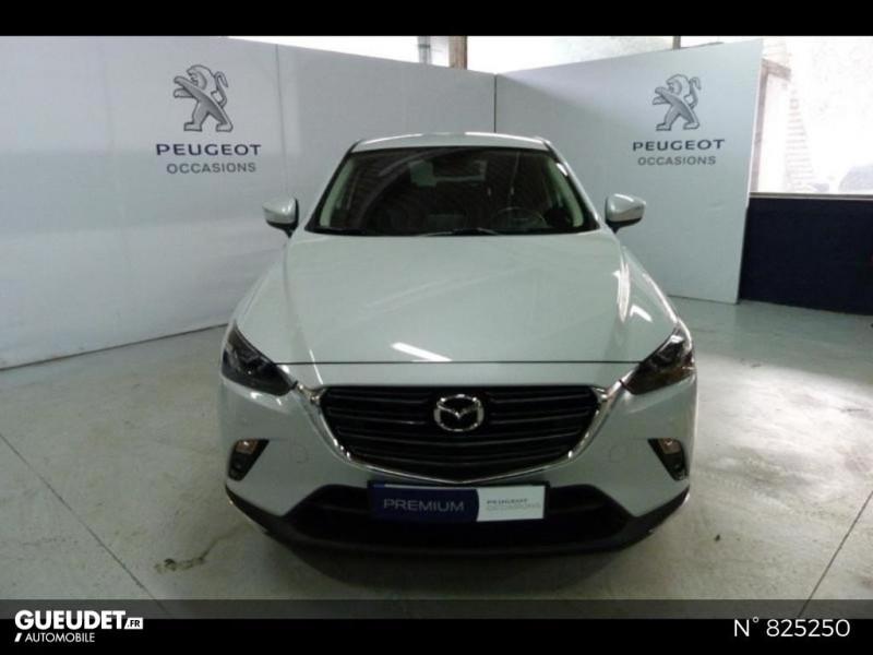 Mazda CX-3 2.0 SKYACTIV-G 121ch Exclusive Edition BVA Euro6d-T Blanc occasion à Avon - photo n°3