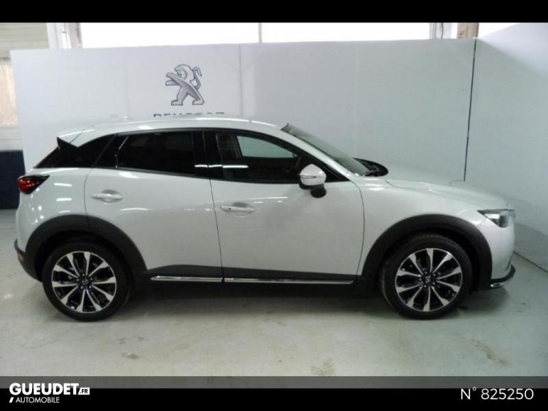 Mazda CX-3 2.0 SKYACTIV-G 121ch Exclusive Edition BVA Euro6d-T Blanc occasion à Avon - photo n°4