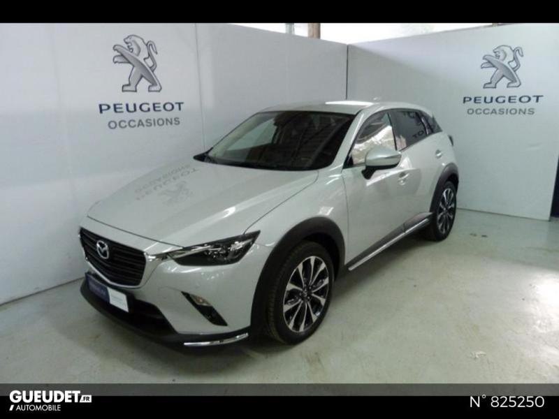 Mazda CX-3 2.0 SKYACTIV-G 121ch Exclusive Edition BVA Euro6d-T Blanc occasion à Avon