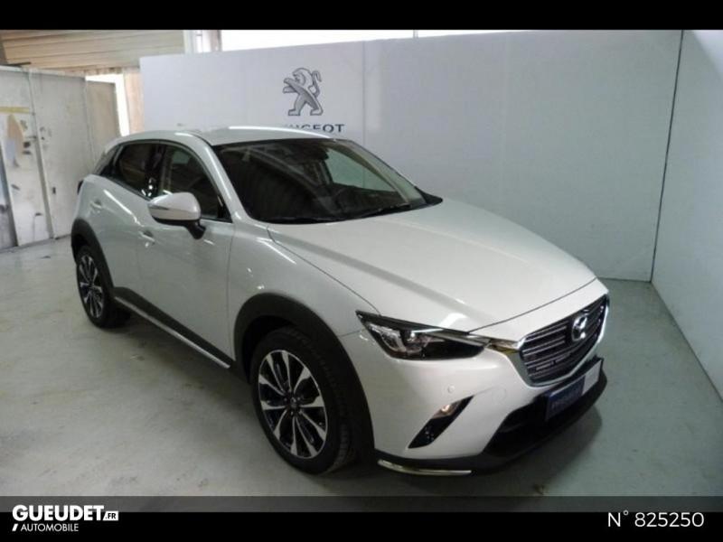Mazda CX-3 2.0 SKYACTIV-G 121ch Exclusive Edition BVA Euro6d-T Blanc occasion à Avon - photo n°2