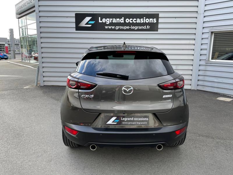 Mazda CX-3 2.0 SKYACTIV-G 121ch Sélection Euro6d-T Gris occasion à Saint-Brieuc - photo n°5