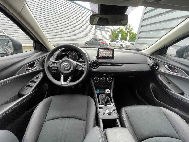 Mazda CX-3 2.0 SKYACTIV-G 121ch Sélection Euro6d-T Gris occasion à Saint-Brieuc - photo n°7