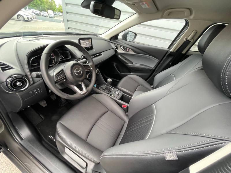Mazda CX-3 2.0 SKYACTIV-G 121ch Sélection Euro6d-T Gris occasion à Saint-Brieuc - photo n°8