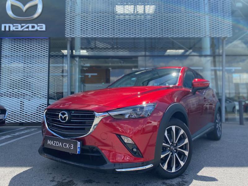 Mazda CX-3 2.0 SKYACTIV-G 121ch Sélection Euro6d-T  occasion à Saint-Herblain