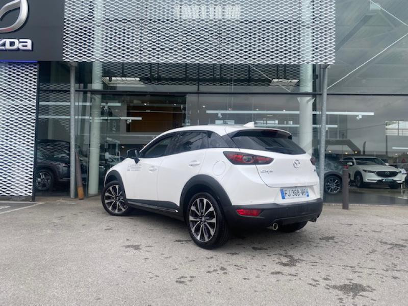 Mazda CX-3 2.0 SKYACTIV-G 121ch Sélection Euro6d-T Blanc occasion à Saint-Herblain - photo n°3