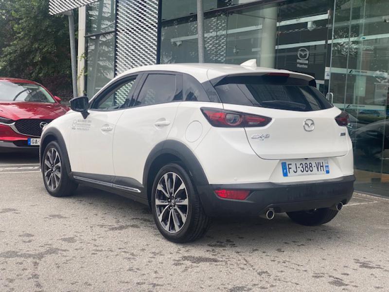 Mazda CX-3 2.0 SKYACTIV-G 121ch Sélection Euro6d-T Blanc occasion à Saint-Herblain - photo n°6