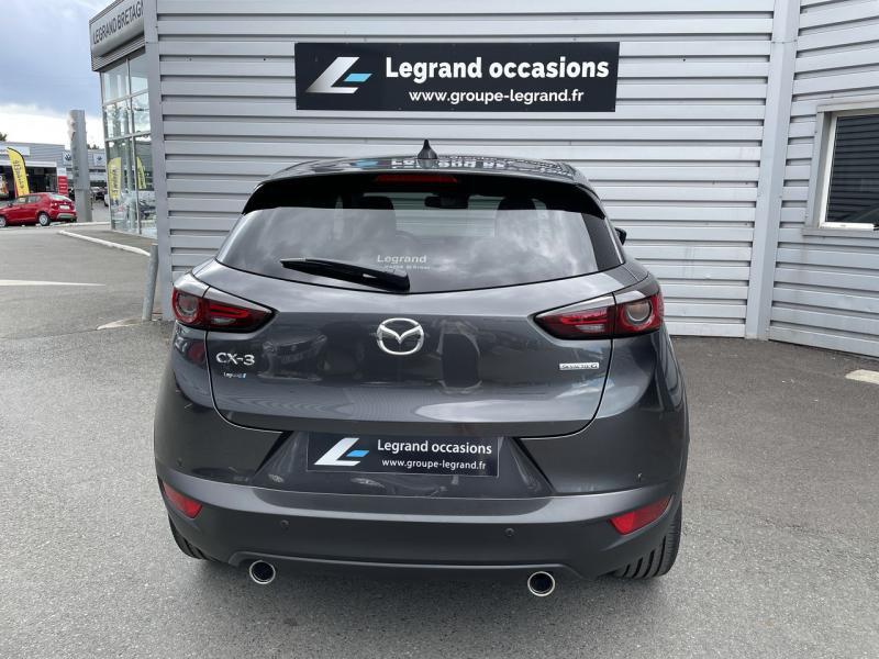 Mazda CX-3 2.0 SKYACTIV-G 121ch Signature BVA 2021  occasion à Saint-Brieuc - photo n°4