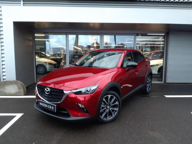 Mazda CX-3 2.0 SKYACTIV-G 121ch Signature BVA 2021  occasion à Cesson-Sévigné