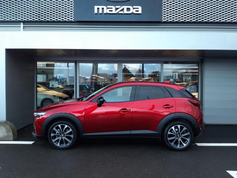 Mazda CX-3 2.0 SKYACTIV-G 121ch Signature BVA 2021  occasion à Cesson-Sévigné - photo n°2