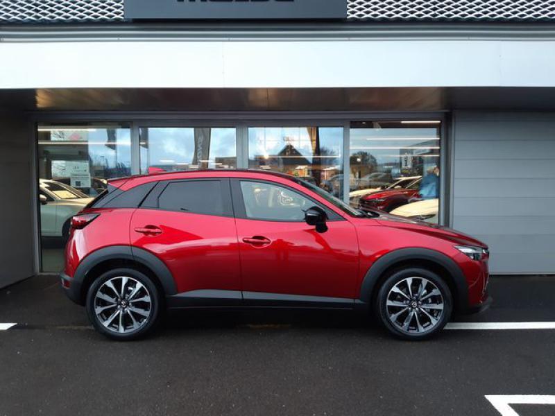 Mazda CX-3 2.0 SKYACTIV-G 121ch Signature BVA 2021  occasion à Cesson-Sévigné - photo n°3