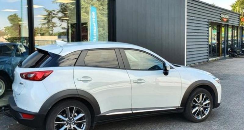 Mazda CX-3 2.0 SkyActiv-G 150 Exclusive AWD BVA Blanc occasion à LA TALAUDIERE - photo n°2
