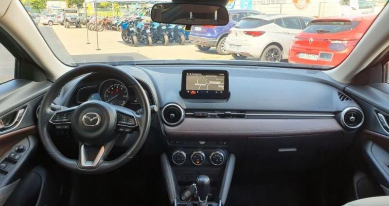Mazda CX-3 2.0 SkyActiv-G 150 Exclusive AWD BVA Blanc occasion à LA TALAUDIERE - photo n°3