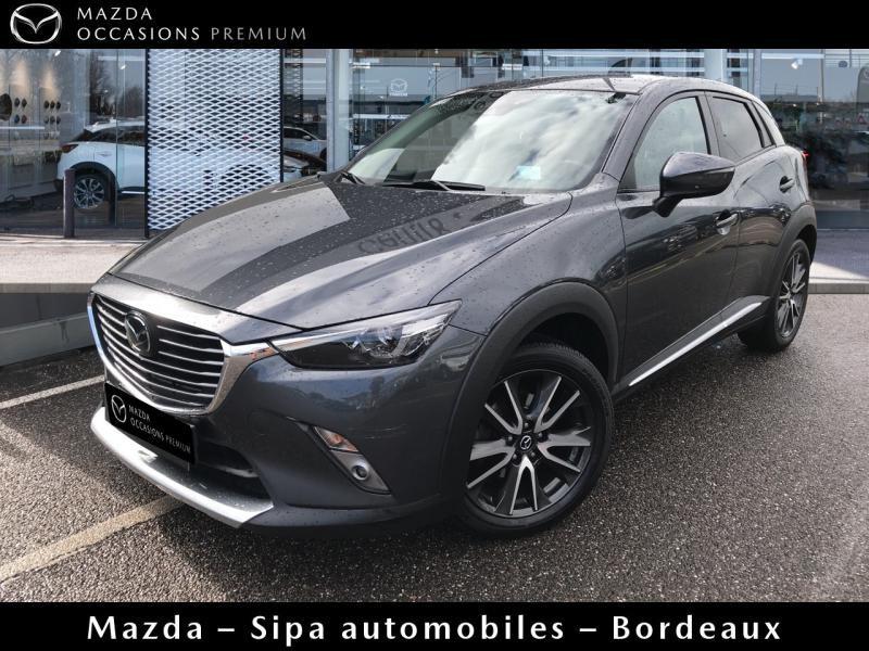 Mazda CX-3 2.0 SKYACTIV-G 150 Sélection AWD Gris occasion à Mérignac