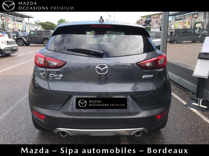 Mazda CX-3 2.0 SKYACTIV-G 150 Sélection AWD Gris occasion à Mérignac - photo n°4