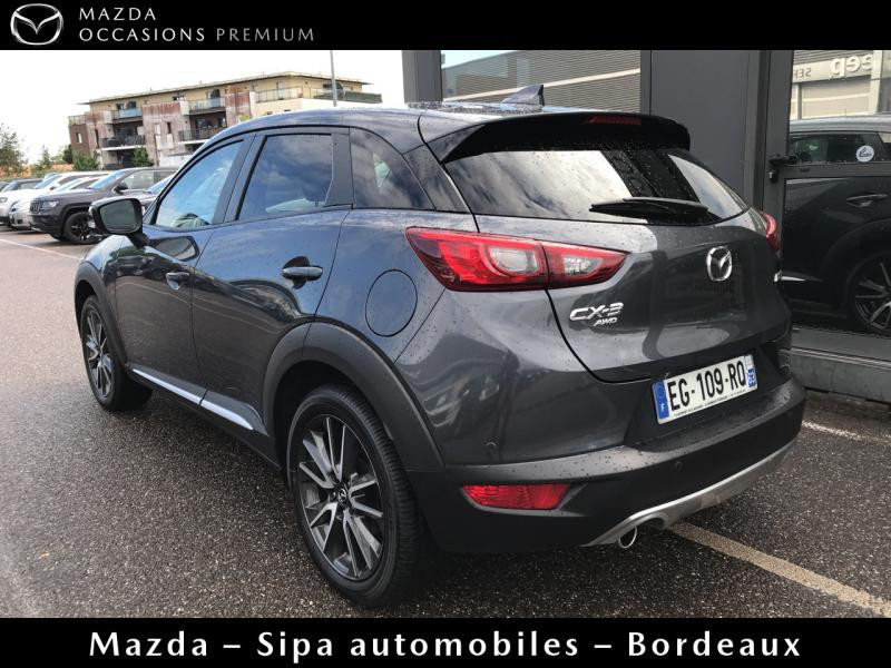 Mazda CX-3 2.0 SKYACTIV-G 150 Sélection AWD Gris occasion à Mérignac - photo n°3