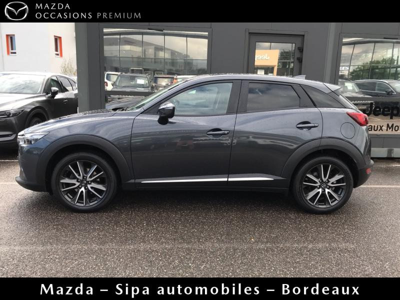 Mazda CX-3 2.0 SKYACTIV-G 150 Sélection AWD Gris occasion à Mérignac - photo n°5