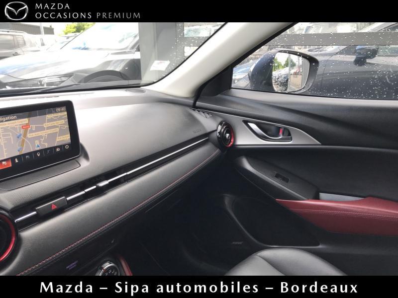 Mazda CX-3 2.0 SKYACTIV-G 150 Sélection AWD Gris occasion à Mérignac - photo n°14