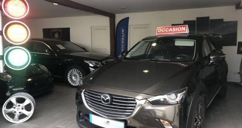 Mazda CX-3 2.0 SKYACTIV-G DYNAMIQUE SKYACTIV-DRIVE Marron occasion à Nanteuil Les Meaux