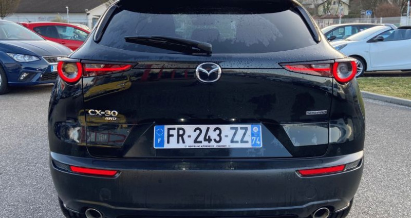 Mazda CX-30 180 SKYACTIV-X M HYBRID SPORTLINE AWD Noir occasion à EPAGNY - photo n°7